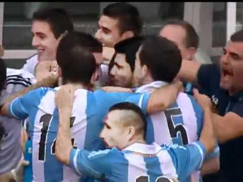 Brasil 3 X 4 Argentina Gol De Messi   Amistoso   09-06-2012
