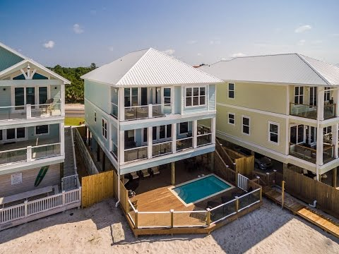 Panama City Beach 6BR Gulf Front Home For Sale, 17491 Front Beach Rd.