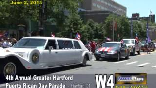 w4 news 4th annual puerto rican day parade 6 2 2013
