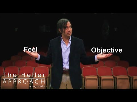 """Free Acting Lessons: The Heller Approach """"The Foundation"""""""