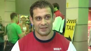Интервью с с участником Олимпийских игр 2016 по дзюдо Кириллом Денисовым из Трехгорного, встреча в а