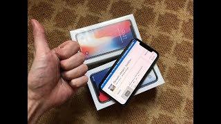 Як я купував iPhone X в США! Розпакування і ЧЕСНИЙ ОГЛЯД iPhone X з Нью Йорка!