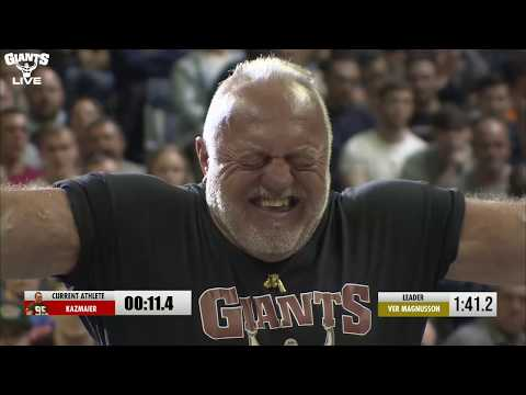 Legends KAZMAIER And Magnus VER MAGNUSSON Go Head To Head | Giants Live Wembley 2019