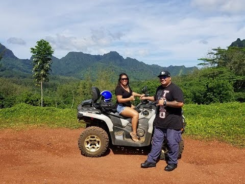 ATV Riding in Moorea, Tahiti