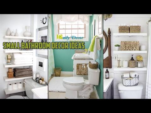 [Daily Decor] Small Bathroom Decor Ideas