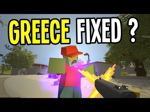 Unturned - GREECE MAP gets FIXED - Greece Map Survival - Episode 10 thumbnail