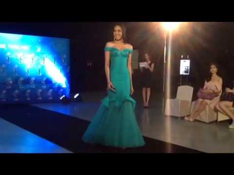 Miss Universe Thailand 2013 evening gown