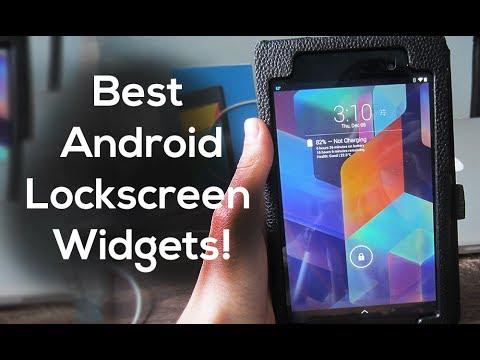Best Android Lockscreen Widgets!
