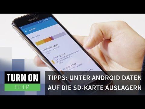 Tipps: Unter Android Daten auf die SD-Karte auslagern - HELP - 4K