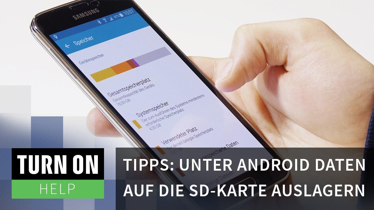 Sd Karte Als Standardspeicher.Tipps Unter Android Daten Auf Die Sd Karte Auslagern Help 4k