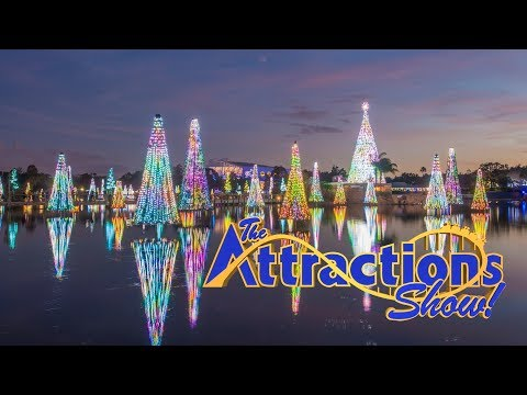 The Attractions Show - SeaWorld Christmas Celebration; Legoland Christmas Bricktacular; latest news