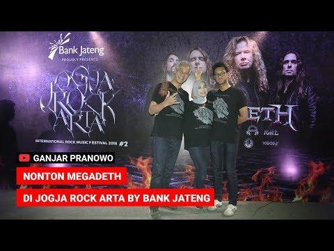 (Ganjar Pranowo Vlog) Nonton Megadeth Di Jogja Rock Arta by Bank Jateng Mp3