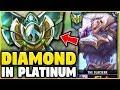 I TOOK MY GAREN INTO PLATINUM! DIAMOND GAREN ONE-TRICK VS PLATINUM ELO! - League of Legends