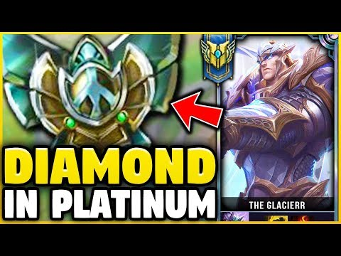 I TOOK MY GAREN INTO PLATINUM! DIAMOND GAREN ONE-TRICK VS PLATINUM ELO! - League of Legends