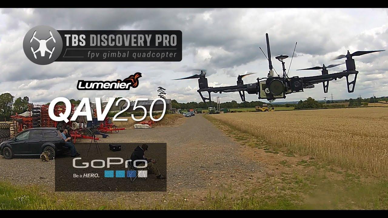 QAV250 - TBS Discovery Pro -HD- - YouTube