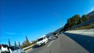 BMW S1000RR Deadly Escape İzmir Turkey GoPro