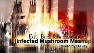 Lady Gaga vs. Infected Mushroom - Eat Bad Raw Romance (DJ Jay Mashup)