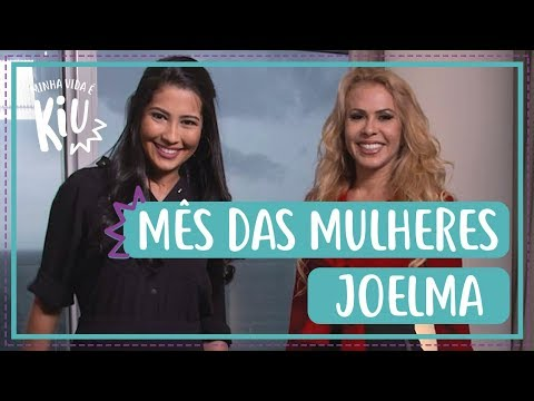 Joelma fala sobre sobre carreira depressão e superação com Thay OG  Minha Vida é Kiu