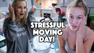 Stressful Moving Day! | What I Ate Wednesday