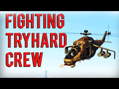 Fighting Crew Of Tryhards And Passive Poppers | Gta 5 Online