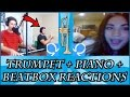 TRUMPET + Piano/Beatbox - OMEGLE REACTIONS