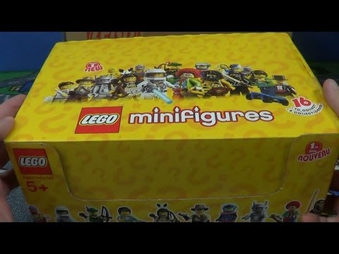 S1 Lego MiniFigures Series 1 60-count Unboxing