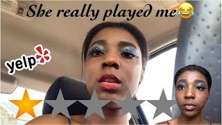 I WENT TO THE WORST REVIEWED MAKEUP ARTIST IN NEW YORK thumbnail