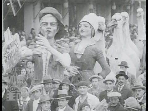 Carnaval de Nice 1930