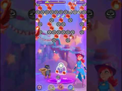 Bubble Witch 3 Saga Level 125 ~ 2 stars ~ no boosters