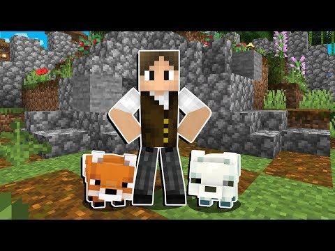 Minecraft Origens #83: CONSTRUINDO A NOVA CASA DAS RAPOSAS!
