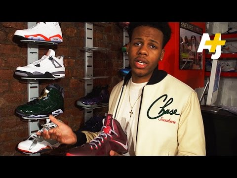 Harlem's Teenage Sneaker Pawn Shop Entrepreneur