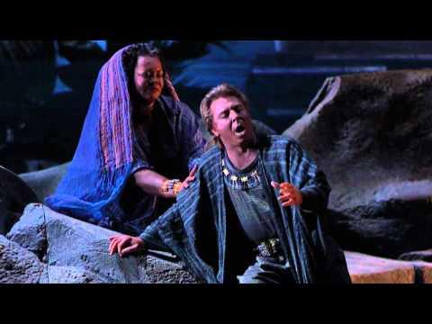 [HD] Nile scene. Pur ti riveggo - Roberto Alagna, Violeta Urmana, Carlo Guelfi (from Verdi's Aida)