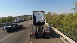 Accident 200 km/h AUDI vs BMW