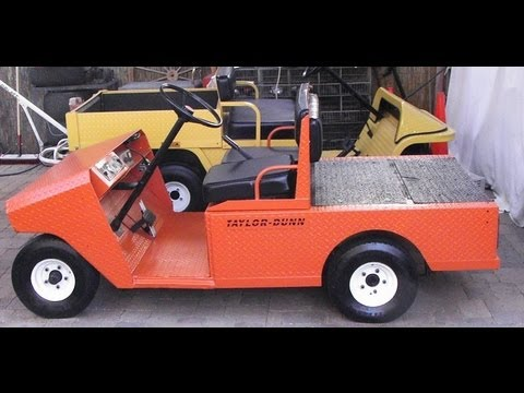 Taylor Dunn R3 80 36 Volt Industrial Utility Golf Cart
