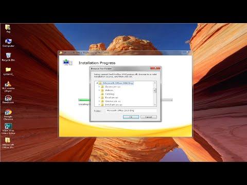 MS Office Professional Plus 2010 Browse For Folder Problem Fix By Tech MatriX