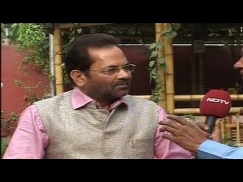 Muslims in UP have not voted against BJP: Naqvi