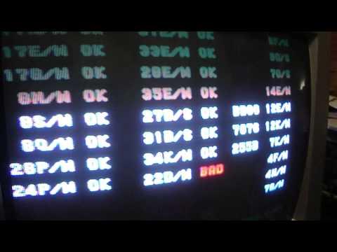 Konami GX System Arcade Board 22 D/M GX073 Error Fix And Trouble Shooting