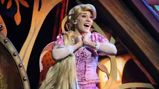 "Rapunzel sings ""When Will My Life Begin?"" - Mickey and the Wondrous Book, Hong Kong Disneyland"
