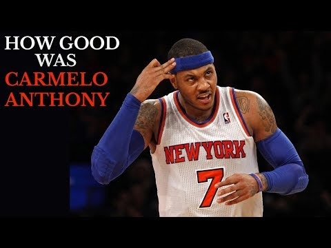 How Good was Carmelo Anthony in his Prime? (And Why He has Declined) [OC]