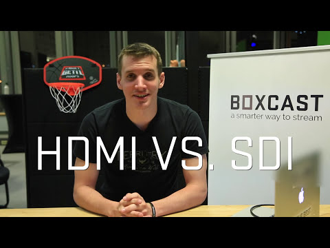 HDMI vs  SDI Video Connections - What's the Difference?
