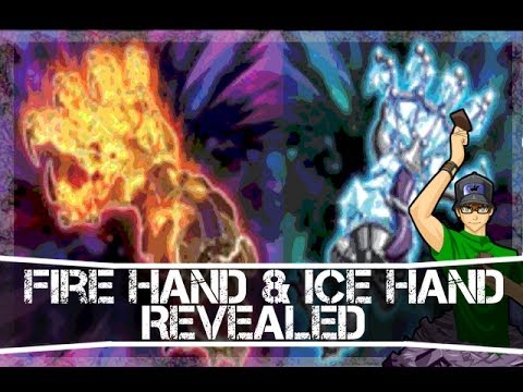 Ice Fire Dragon of Legend Fire Hand Ice