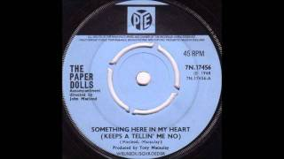 The Paper Dolls, ( UK) - Something Here In My Heart & All The Time In The World.wmv