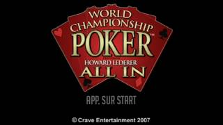 "[Ps2] Introduction du jeu ""World Championship Poker feat Howard "" de l"