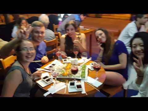 After Las Grietas Galapagos Adventures it's Sushi Happy Hour