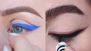 Best Eye Makeup Tips and Looks 2018 | Eyeliner Tutorials Compilation July 2018