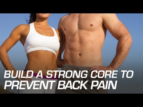 Build a Strong Core to Prevent Back Pain