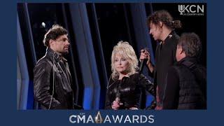 CMA REHEARSAL- Dolly Parton, For King & Country, Zach Williams