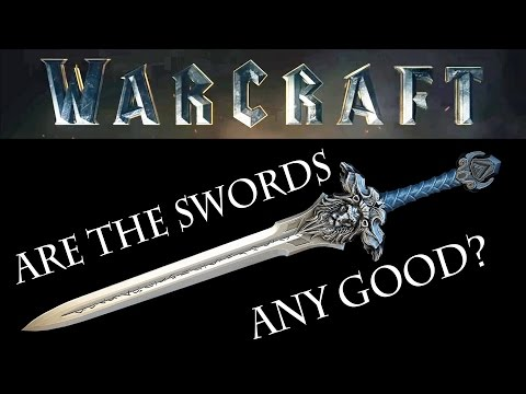 Are the SWORDS in the Warcraft movie stupid?