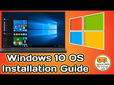 How to install Fresh Windows 10 OS on any PC at Home Complete Guide (Hindi)| Indian Tech Helper