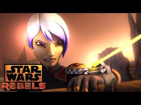 Training Sabine | Star Wars Rebels | Disney XD